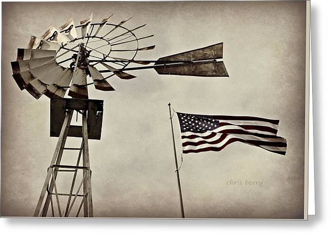Americana Greeting Card