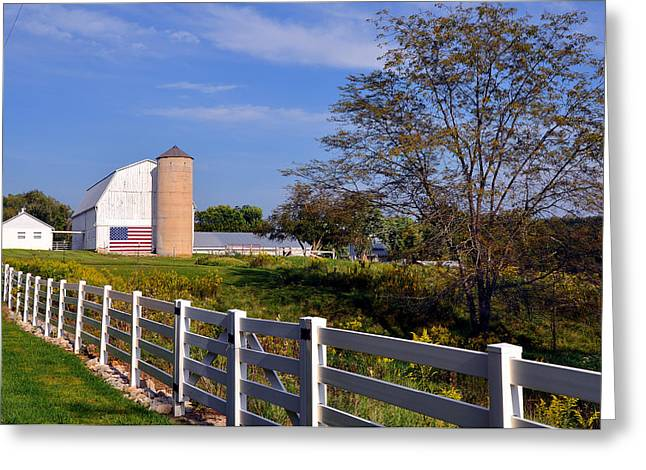Missouri Americana Greeting Card