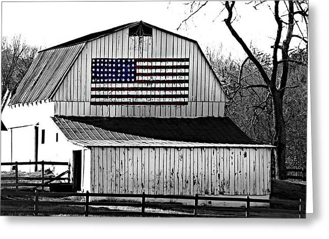 Americana Greeting Card by Trish Clark