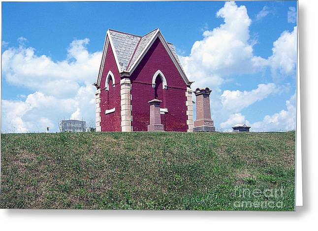 Greeting Card featuring the photograph Amish Cemetery by Gena Weiser