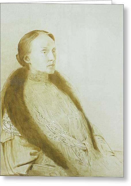 A.m.l. Bonger-van Der Linden Greeting Card by Litz Collection