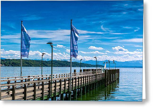 Ammersee - Lake In Bavaria Greeting Card