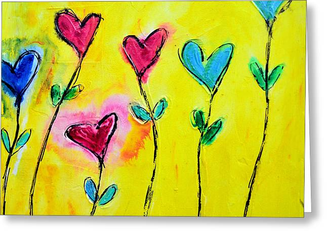 Amor De Colores Greeting Card