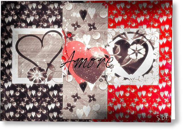 Amore Greeting Card
