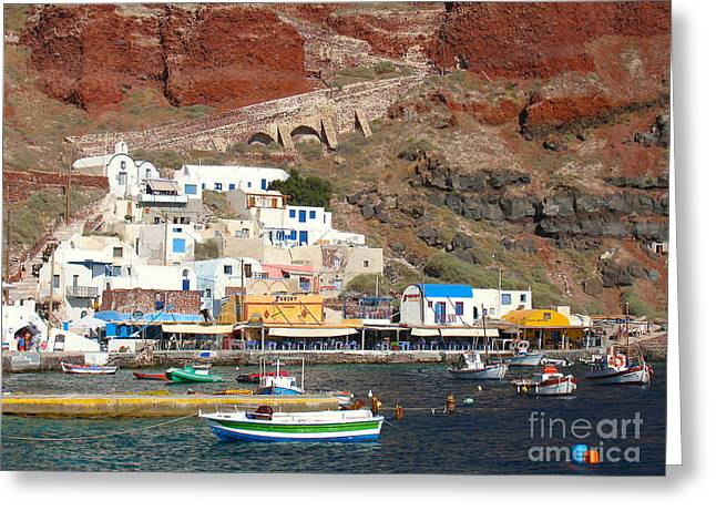 Amoudi Bay Greeting Card