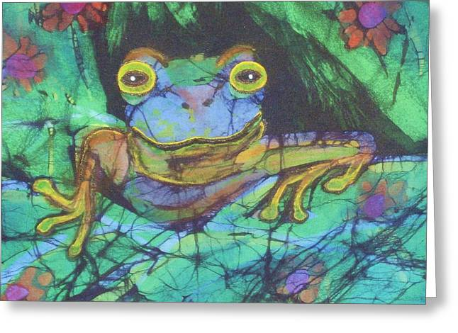 Amphibia IIi Greeting Card
