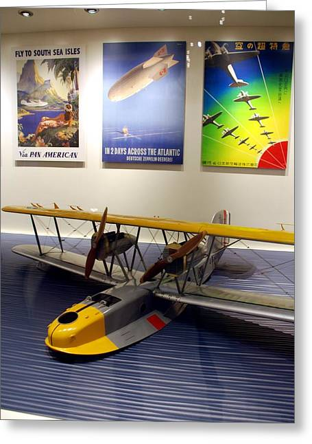 Amphibious Plane And Era Posters Greeting Card