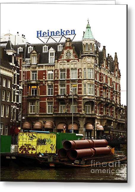 Amsterdam Architecture Greeting Card