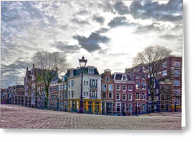Amsterdam Bridges Greeting Card