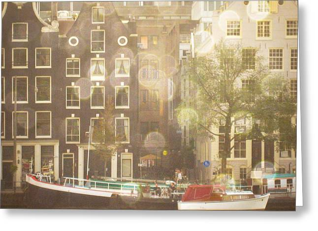 Amsterdam Greeting Card by Cassia Beck