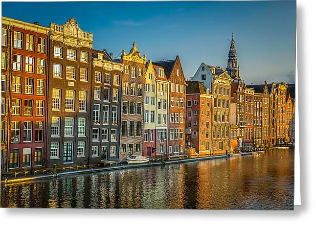 Amsterdam Greeting Card by Neah Falco