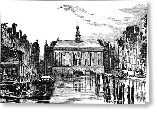 Amsterdam Stock Exchange Greeting Card by Collection Abecasis