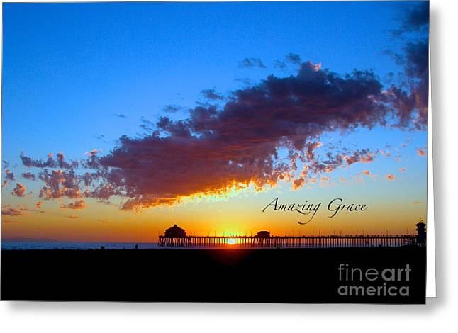 Greeting Card featuring the photograph Amzing Grace 7 by Margie Amberge
