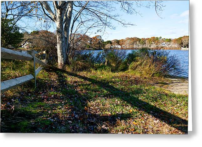 An Afternoon At Long Pond Greeting Card