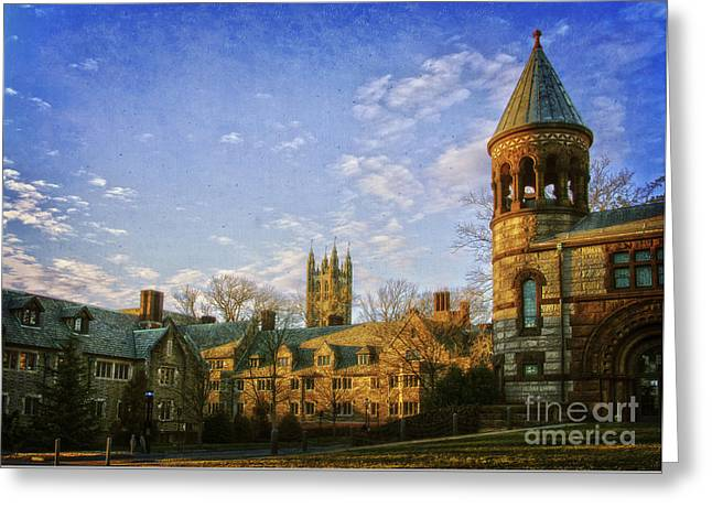 An Afternoon At Princeton Greeting Card