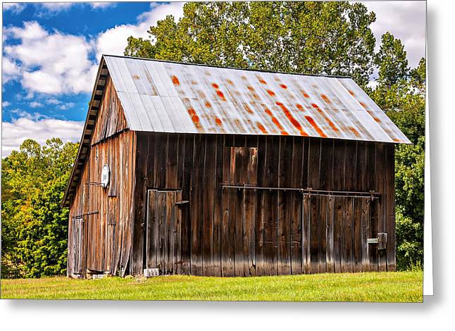 An American Barn 2 Greeting Card by Steve Harrington