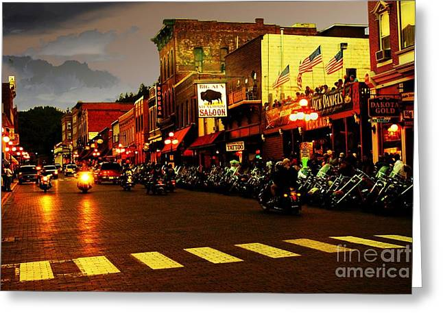 An American Dream Greeting Card by Anthony Wilkening