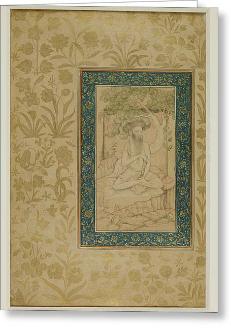 An Ascetic Greeting Card by British Library