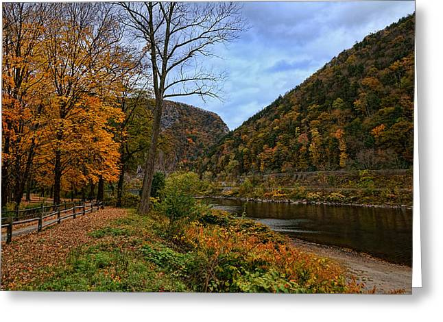 An Autumn Day Greeting Card by Lanis Rossi