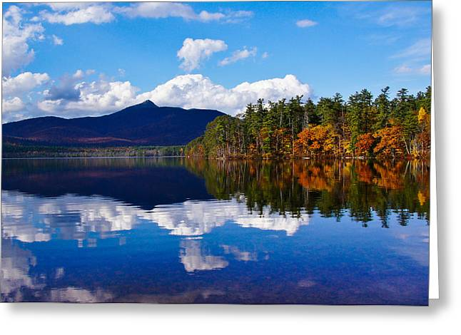An Autumn Evening On Lake Chocorua Greeting Card
