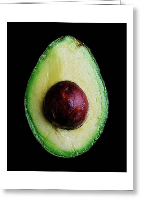 An Avocado Greeting Card