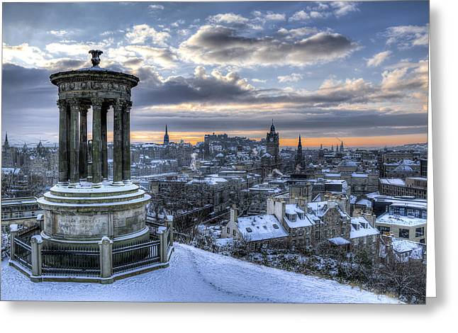 An Edinburgh Winter Greeting Card