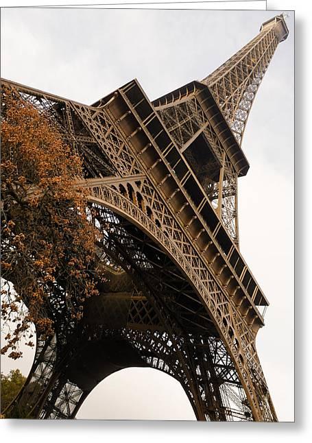 An Elegant French Iron Lady - La Dame De Fer Paris Greeting Card