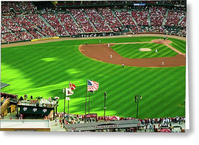An Elevated View Of The Third Busch Greeting Card