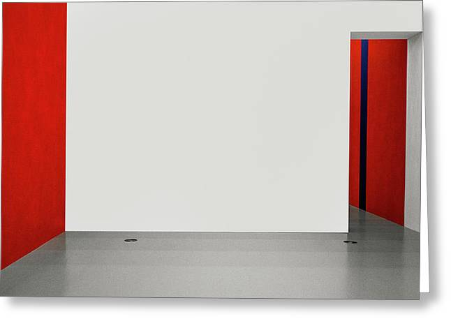 An Empty Room Greeting Card by Inge Schuster