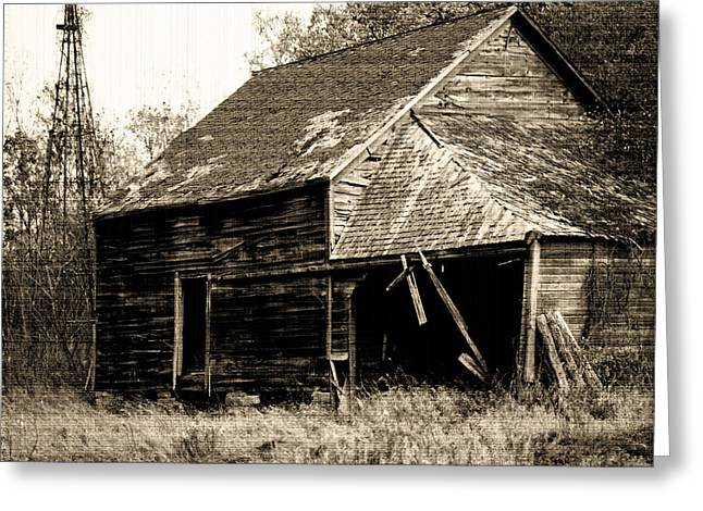 Greeting Card featuring the photograph An Era Past by Maggy Marsh