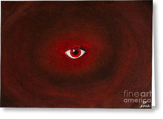 An Eye Is Upon You Greeting Card