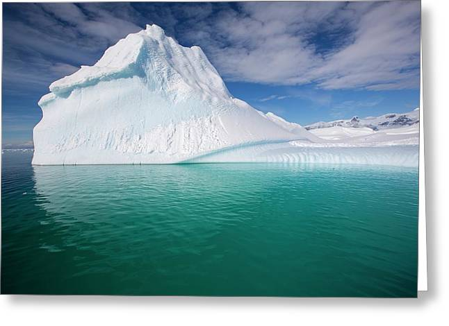 An Iceberg In The Gerlache Strait Greeting Card