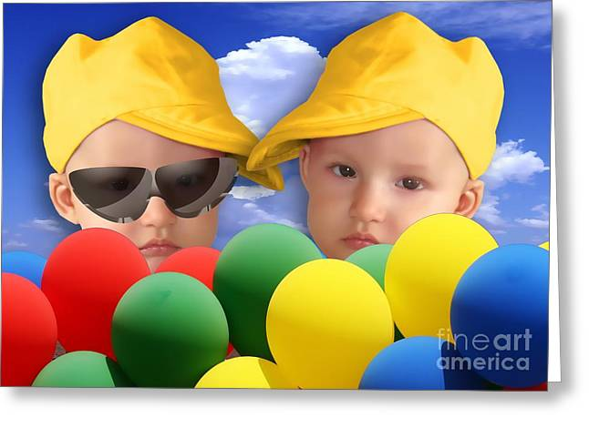 An Image Of A Photograph Of Your Child. - 07a Greeting Card