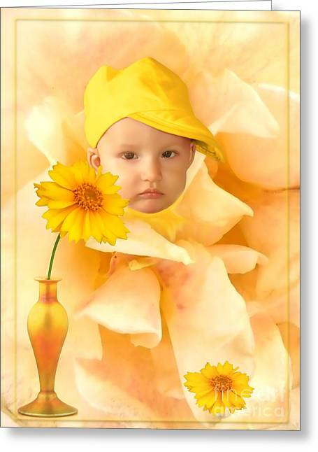An Image Of A Photograph Of Your Child. - 09 Greeting Card