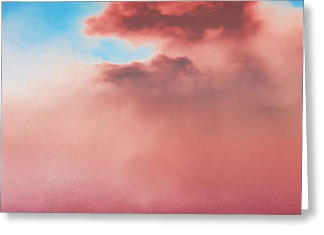 Cloudscape Impression Greeting Card