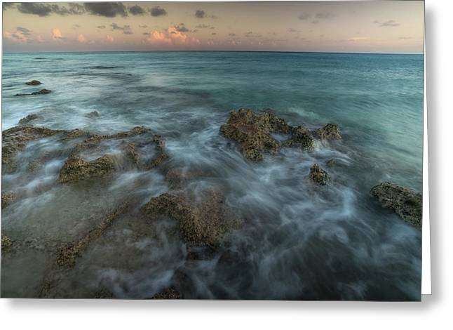 An Ocean View Off The Coast Of Cat Greeting Card by Andy Mann