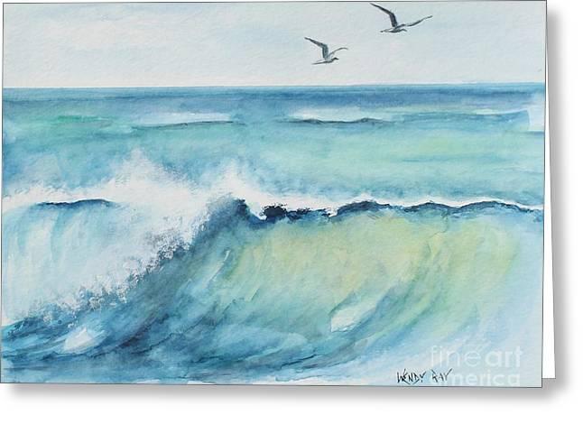 An Ocean's Wave Greeting Card
