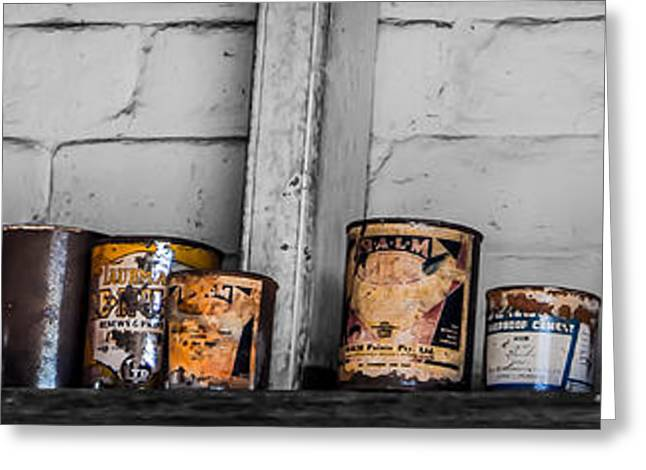An Old Mechanic's Ingredients Greeting Card by Kaleidoscopik Photography