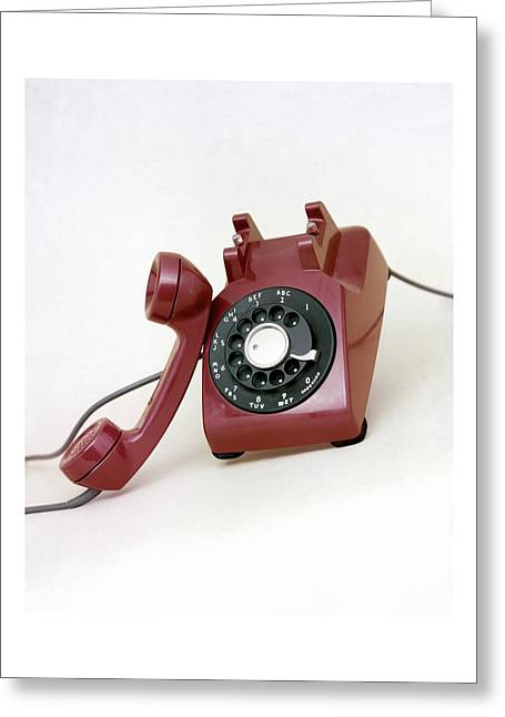 An Old Telephone Greeting Card