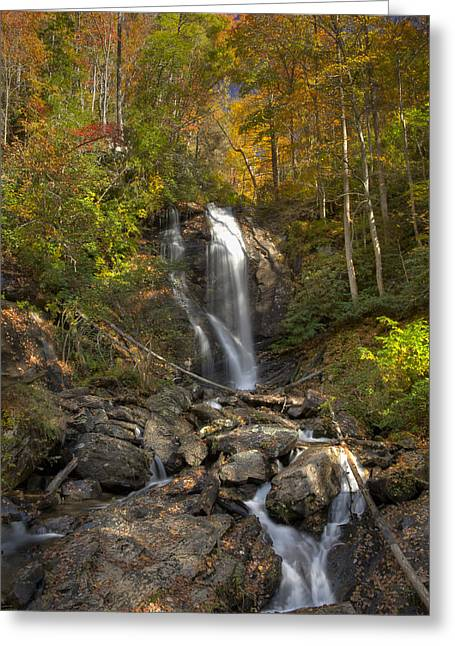 Ana Ruby Falls Autumn 2 Greeting Card by Penny Lisowski