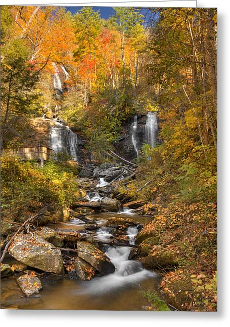 Ana Ruby Falls Autumn 3 Greeting Card by Penny Lisowski