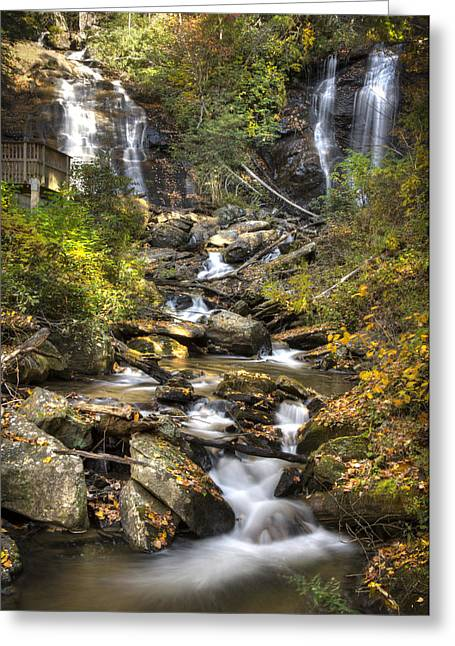 Ana Ruby Falls In Autumn Greeting Card by Penny Lisowski