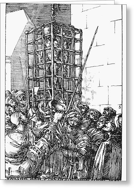 Anabaptist Munster, 1536 Greeting Card