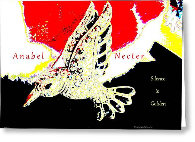 Anabel Necter Greeting Card by Artscana Images
