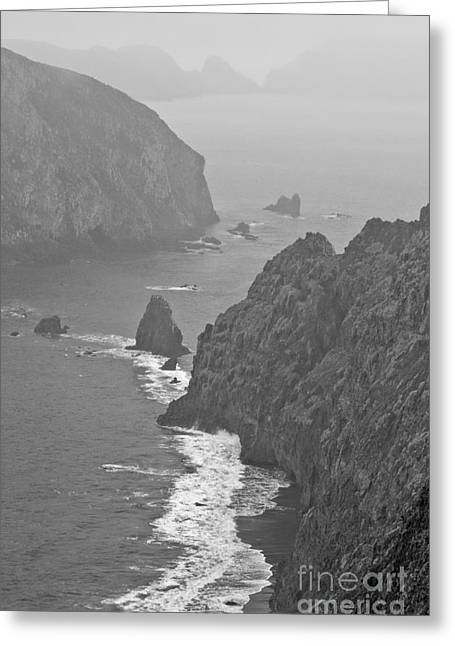 Anacapa Mist Greeting Card