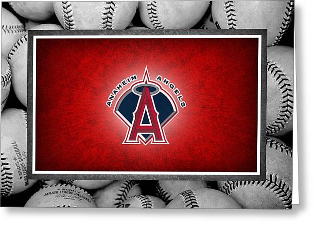 Anaheim Angels Greeting Card