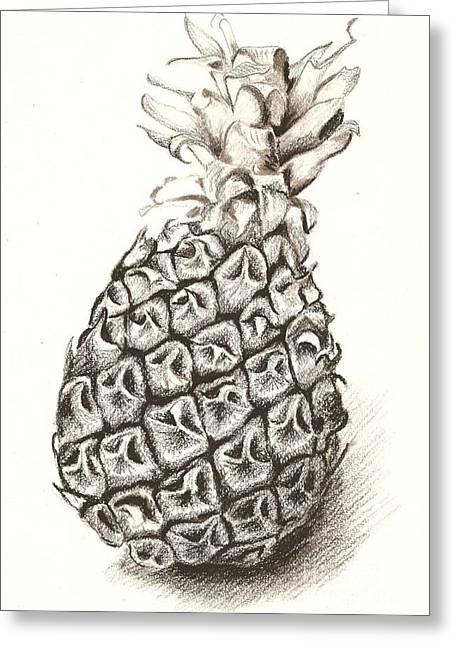 Ananas No.1 Greeting Card
