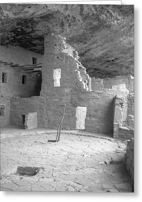 Anasazi Ruin At Mesa Verde Greeting Card