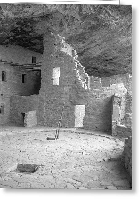 Anasazi Ruin At Mesa Verde Greeting Card