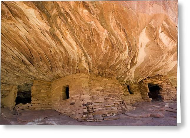 Anasazi Ruins Mesa Verde Np Colorado Greeting Card by Tom Vezo